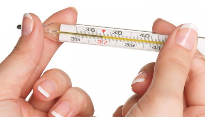temperatura salud disminución