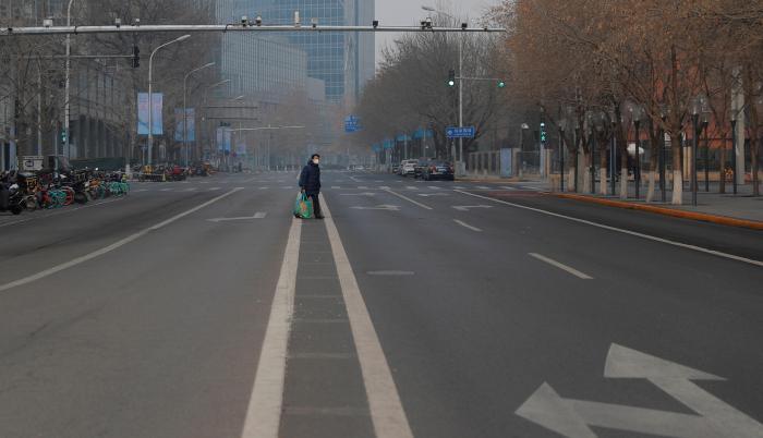 Pekín, China. Coronavirus. Enero 2020.