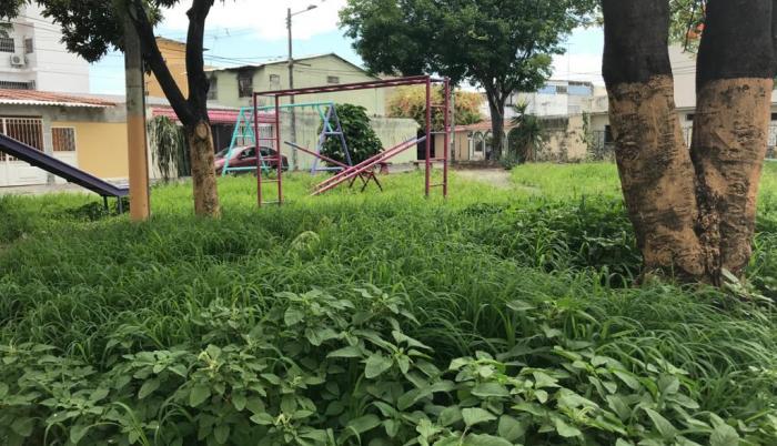 parques abandonados Guayacanes