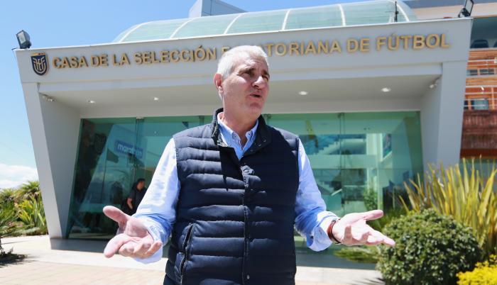 Antonio Cordón - director deportivo de la FEF