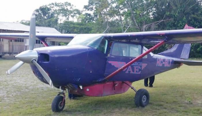 Esta sería la aeronave que sufrió el accidente.