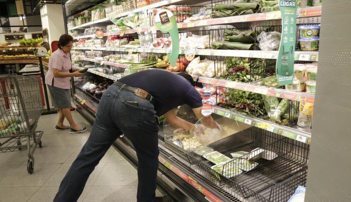 Compra en supermercado