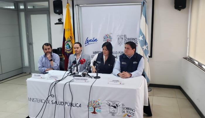 Primer caso de coronavirus en Ecuador.