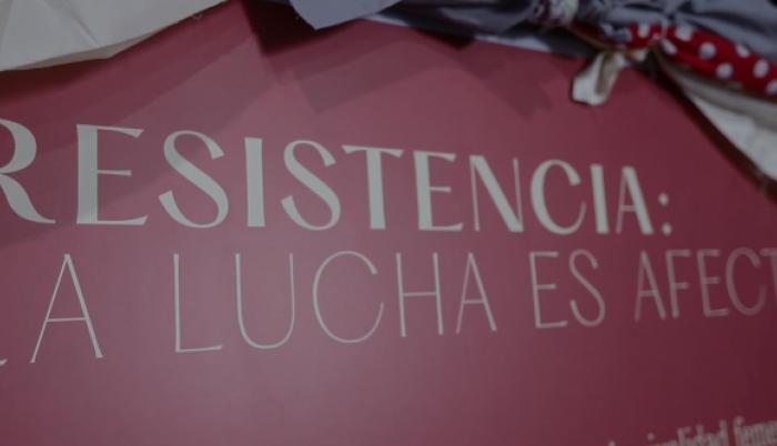 Guayaquil. Imagen de la exposición de arte feminista Resistencia.