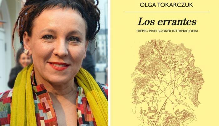 Olga Tokarczuk -errantes-anagrama-portada