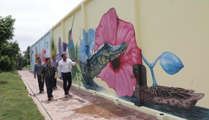 La Puntilla mural