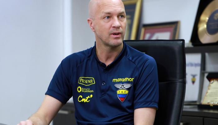 Jordi Cruyff - seleccionador de Ecuador