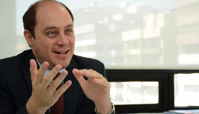 Julio Jose Prado presidente de Asociacion de Bancos Privados