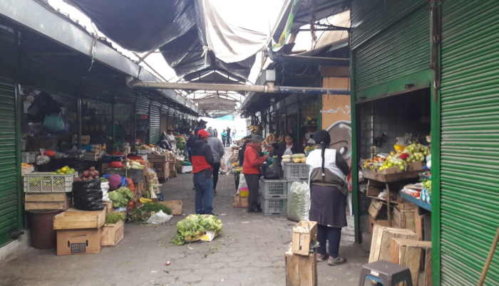 mercado de Machachi