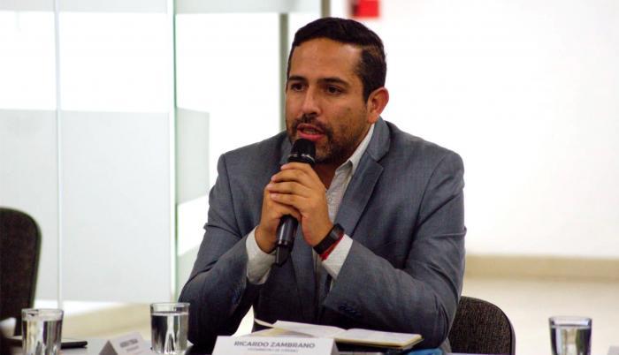 viceministro de turismo Ricardo Zambrano