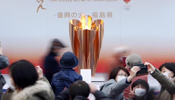 llama olímpica Japón Juegos Olímpicos