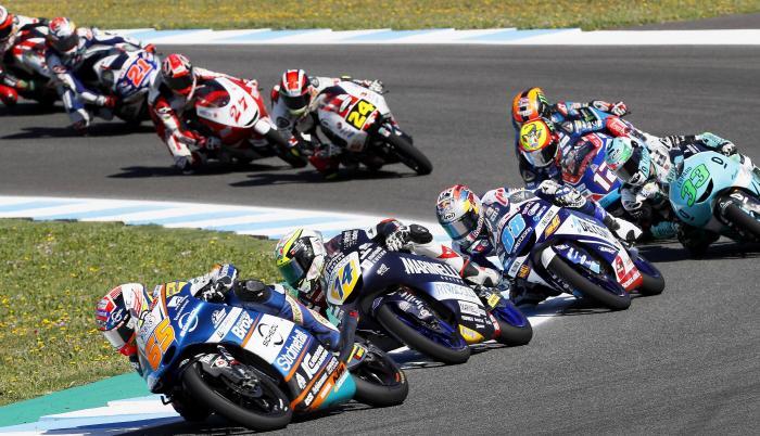 MotoGp Jerez suspensión