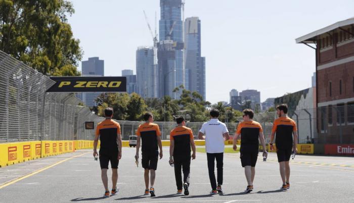 Fórmula Uno McLaren coronavirus
