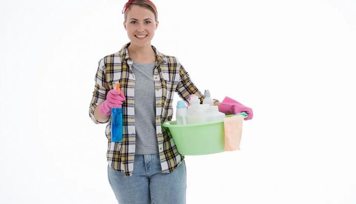 Chica de limpieza