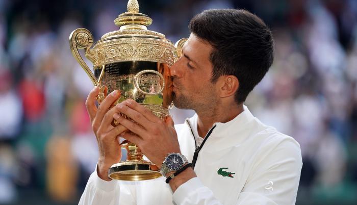 Wimbledon - Djokovic