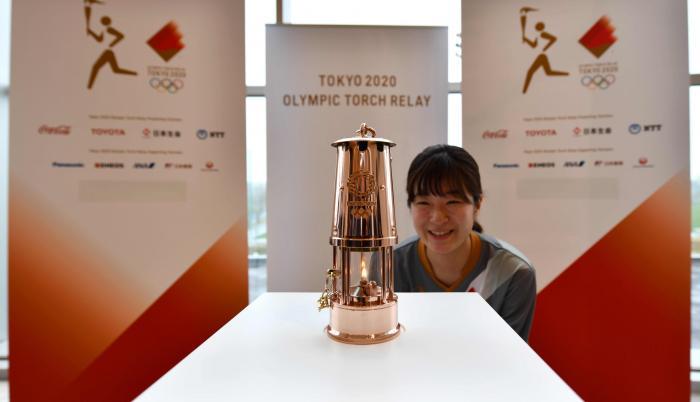 Llama olímpica - Fukushima
