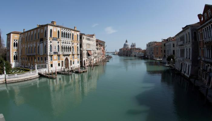 Venecia. Así se observa a esta