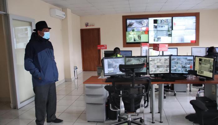 Medardo Chimbolema, alcalde de Guaranda, da positivo COVID-19. Tema: Yadira Illescas. 17 de abril de 2020.