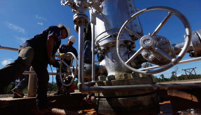 producció petrolera
