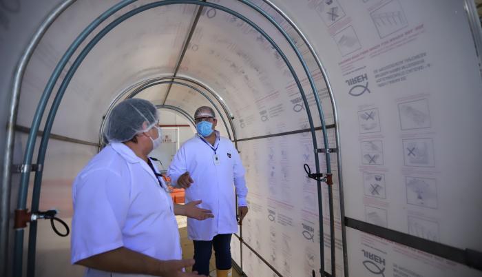 túneles de desinfección-Nirsa