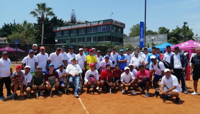 Entrenadores tenis Guayas emergencia sanitaria