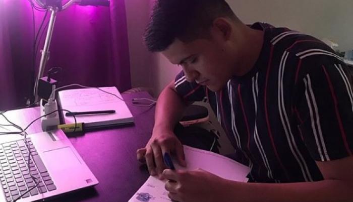 Emiliano Riofrío Tenis de Mesa Ecuador