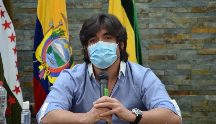 José De La Gasca, secretario Anticorrupción.