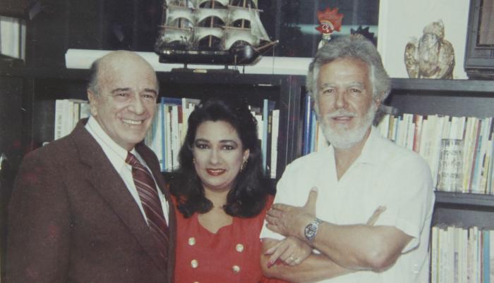 Alberto Borges y Tania Tinoco.