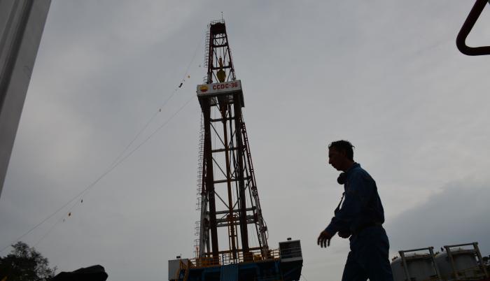 Campos de producción de petróleo en el Ecuador