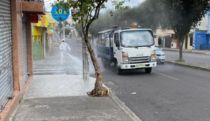Los materiales adquiridos por los municipios para la desinfección de las ciudades serán auditados.