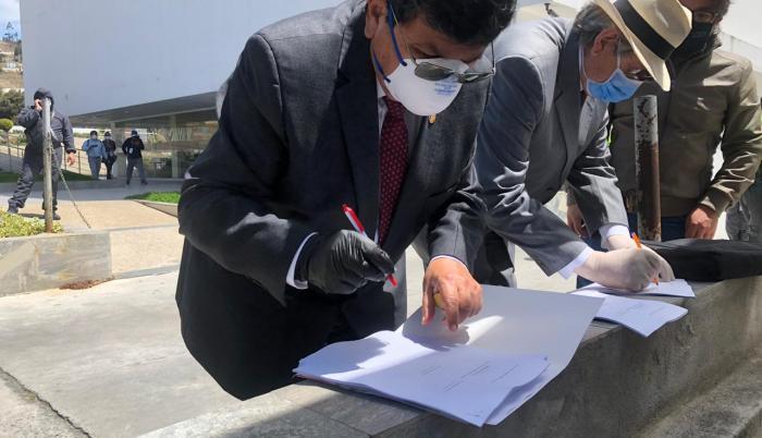 Galo Naranjo rector Universidad de Ambato
