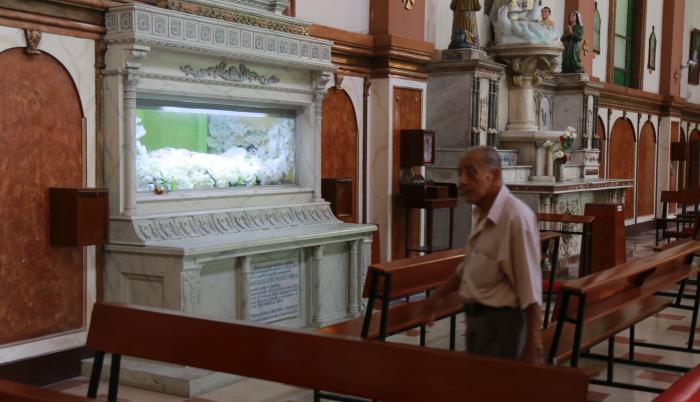 Iglesia San José antes de la pandemia