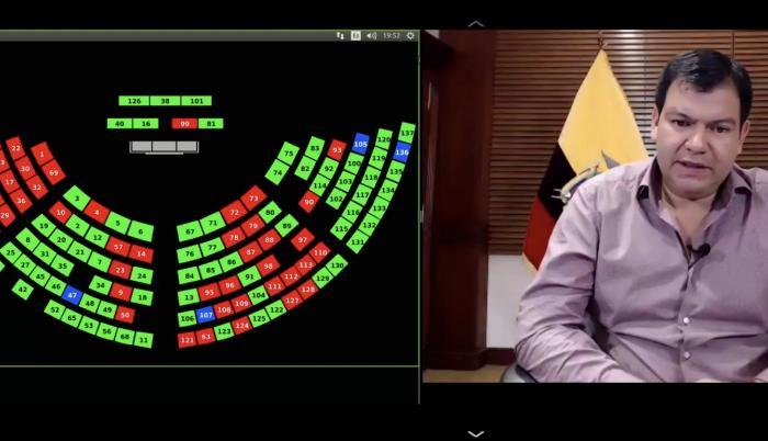 Asamblea, César Litardo, Ley de Apoyo Humanitario