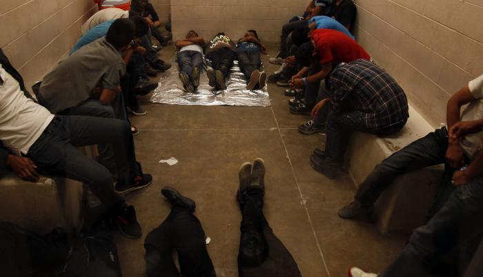 centro de detención en EE. UU.