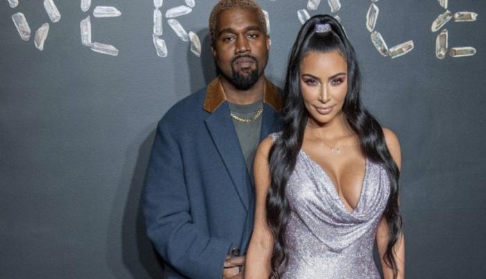 Kim Kardashian Kanye West 1