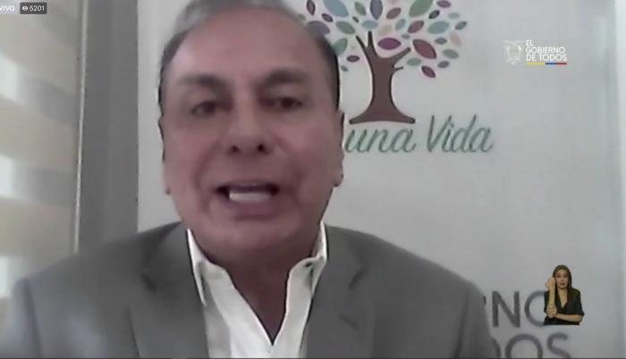 Luis Poveda. Ministerio de trabajo.
