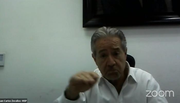 Juan Carlos Zevallos, ministro de Salud