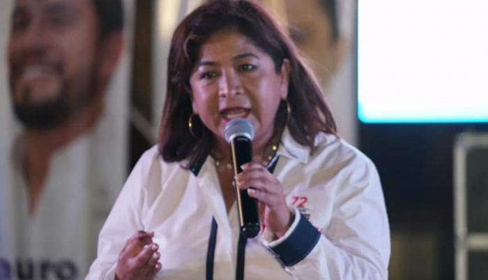 Violeta Ávila concejala manta muerte