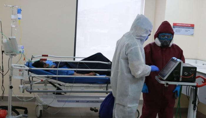La demanda de camas hospitalarias crece en la capital.