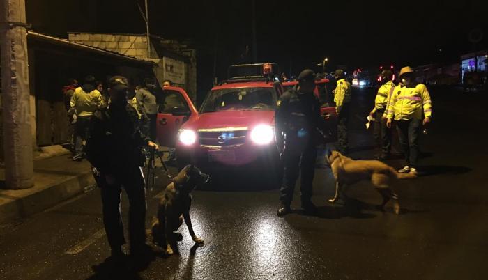 Detenidos Sucumbíos microtráfico Quito