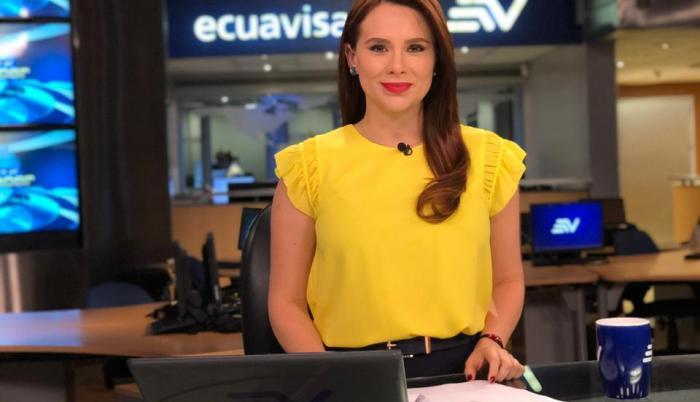 Samantha Mora, Ecuavisa.