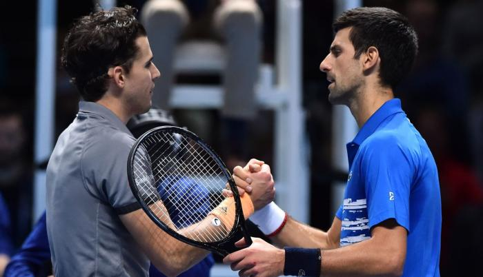 Novak Djokovic - Dominic Thiem