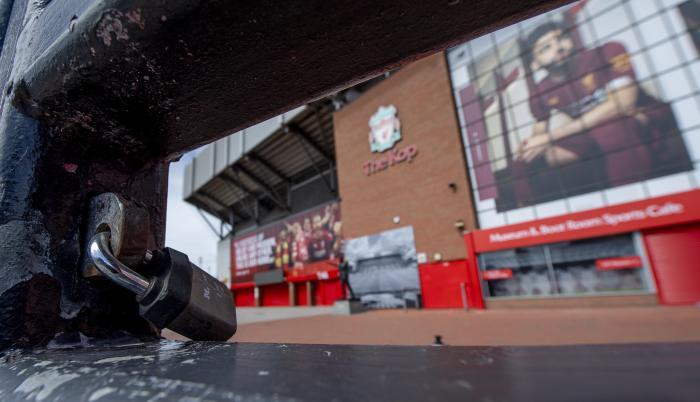 Liverpool FC Stadium Premier Inglaterra