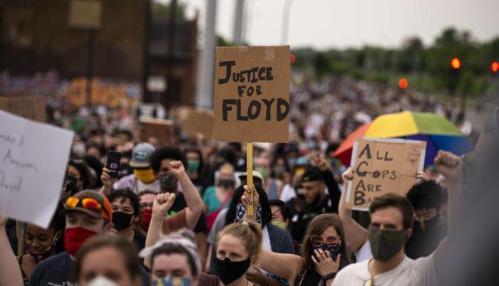 Protesas-Estados Unidos-Brutalidad Policia.