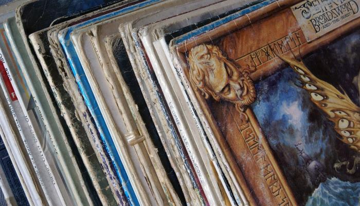 Colección de discos