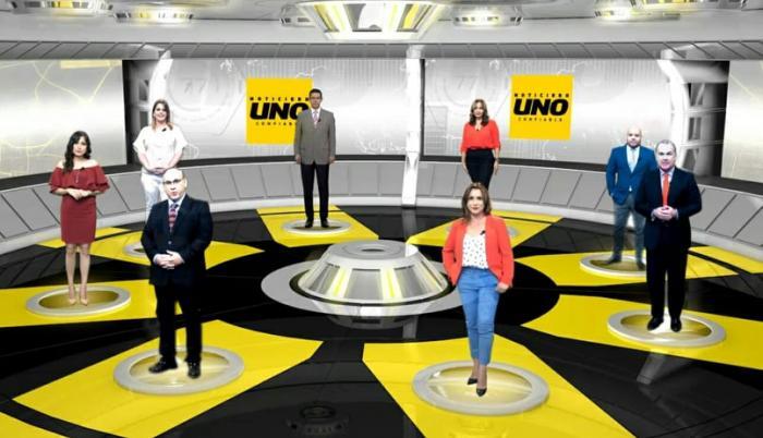 Noticiero confiable de Canal Uno.