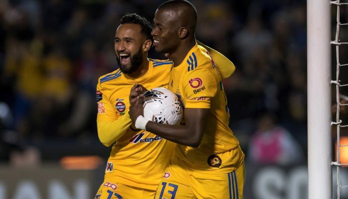 Enner+Valencia+Fútbol+México+Tigres