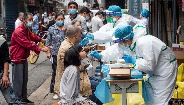 Wuhan, China. Foto de archivo tomada el 15 de mayo por la AFP.