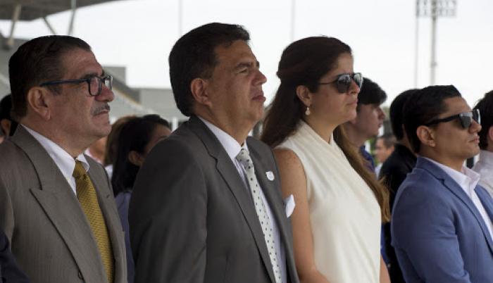 Augusto Morán Andrea Sotomayor COE Secretaría del Deporte