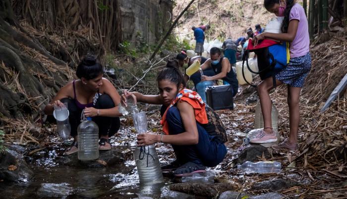 La nueva normalidad de Venezuela es vivir sin agua
